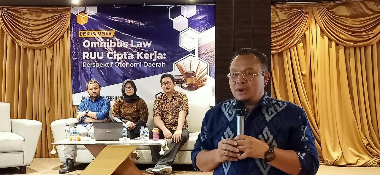 Implikasi Regulasi Cipta Kerja, Pemda Bisa Lepas Tangan