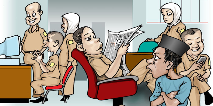 Pelayanan Publik Buruk, Korupsi Subur