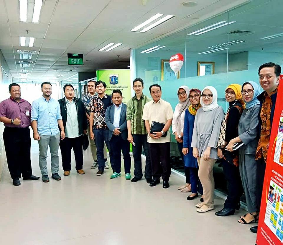 Tim KPPOD beraudiensi dengan Tim Harmonisasi Regulasi DKI Jakarta